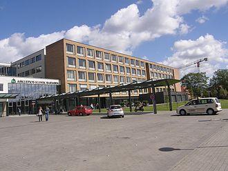 Barmbek-Nord - The hospital of Barmbek in 2010