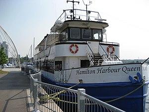 Hughson Street (Hamilton, Ontario) - Hamilton Harbour Queen, Pier 8