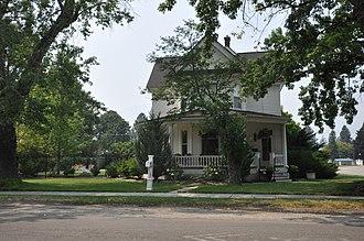 National Register of Historic Places listings in Ravalli County, Montana - Image: Hamilton MT Daniel V Bean House