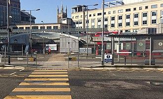 Hammersmith bus station - Hammersmith Bus Station Lower