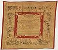 Handkerchief, Muchoirs D'instruction Militaire, 1874 (CH 18615915).jpg