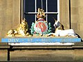 Hanoverian Royal Coat of Arms, Custom House, Quayside (geograph 2130508).jpg