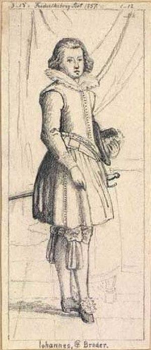 John, Prince of Schleswig-Holstein - Image: Hans 1583 1602