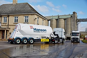 Hanson (company) - The Hanson cement works in Ketton