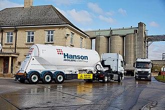 Hanson (company) - The Hanson cement works in Ketton