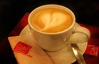 Café Coffee Day - A cup of coffee at CCD