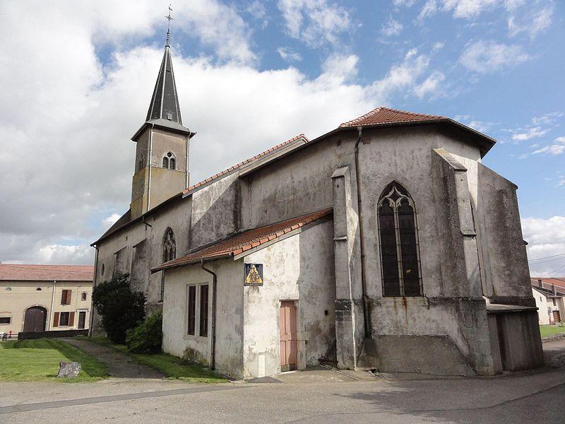 Haraucourt (M-et-M) église
