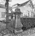 Hardstenen hekpijler van toegangshek - Maarssen - 20143959 - RCE.jpg