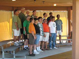 Harrisville, Michigan - Harmony Weekend 2007, Men's Full Chorus