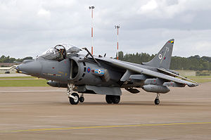Joint Force Harrier - Harrier GR9 of No. 20 Squadron RAF