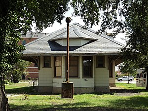 National Register of Historic Places listings in Darlington County, South Carolina - Image: Hartsville Passenger Station, west side