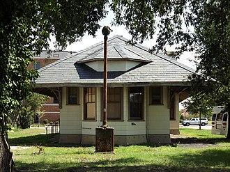 National Register of Historic Places listings in Darlington County, South Carolina - Image: Hartsville Passenger Station, west side