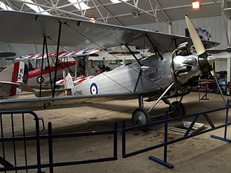 Hawker Tomtit - Airworthy Hawker Tomtit at the Shuttleworth Collection