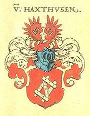 Haxthausen Siebmacher186 - Braunschweig