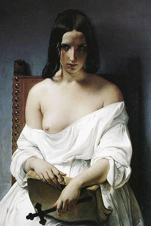 Hayez, Fracesco - La Meditazione - 1851