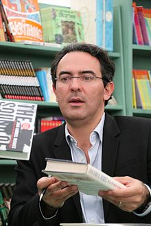 Juan Gabriel Vásquez at the 2016 Hay Festival