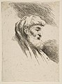 Head of an old bearded Man facing Right MET DP816499.jpg