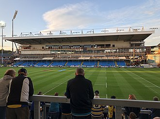 Headingley Rugby Stadium - Headingley North Stand Unser construction