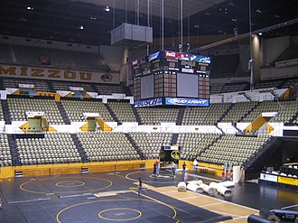 Hearnes Center - Image: Hearnes Center 2