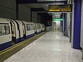 Heathrow Terminal 5 platform 6 look east 1973 stock.JPG