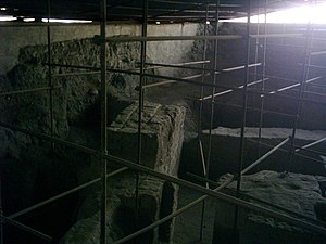 Ecbatana - Underground excavations in Ecbatana (Tell Hagmatana)