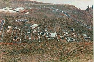 HEGRA - Overview of the HEGRA site in 1997
