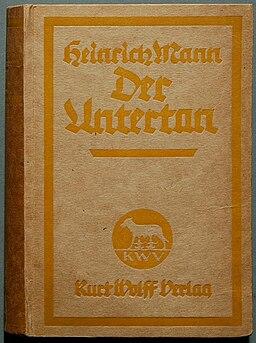 Heinrich Mann Der Untertan (1918)