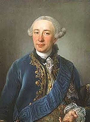 Heinrich Carl von Schimmelmann - Heinrich Carl von Schimmelmann, c. 1762