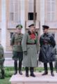 Heinz Guderian presides the German–Soviet military parade in Brest-Litovsk, 1939 (50692303581).png