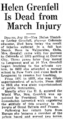 Helen Loring Grenfell (1862-1935) obituary in the Greeley Daily Tribune on July 26, 1935.png