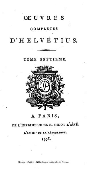 File:Helvétius - Œuvres complètes d'Helvétius, tome 7.djvu