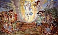 Hendrick van den Broeck - Resurrección de Cristo (Capilla Sixtina, Roma, 1572-85).jpg
