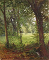 Henri Biva, Forest in the spring (Waldquelle im Frühjahr), oil on canvas, 73 x 60 cm.jpg