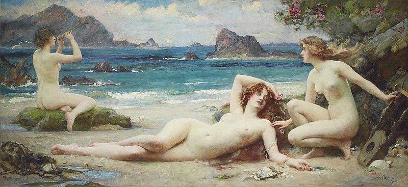 File:Henrietta Rae - The Sirens, 1903.jpg