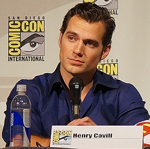 Henry Cavill - Cavill at the 2013 San Diego Comic Con, promoting Man of Steel