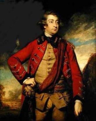 Elizabeth Herbert, Countess of Pembroke and Montgomery - Henry Herbert earl of Pembroke, portrait by Joshua Reynolds