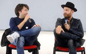 Luigi Luciano - Luigi Luciano and Marcello Macchia at Lucca Comics & Games 2016