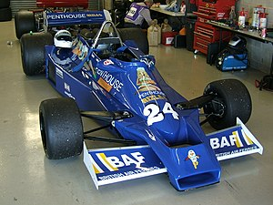 Hesketh Racing - A Hesketh 308E in 1977's Penthouse Rizla Racing livery.