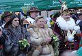 Hildener Karnevals-Prinzenpaar in Düsseldorf, Januar 2015.jpg