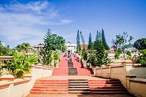 Hill Palace, Tripunithura - Palace front entrance
