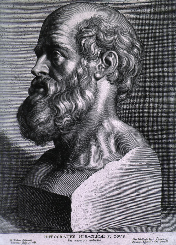ヒポクラテス(Hippocrates)Wikipediaより