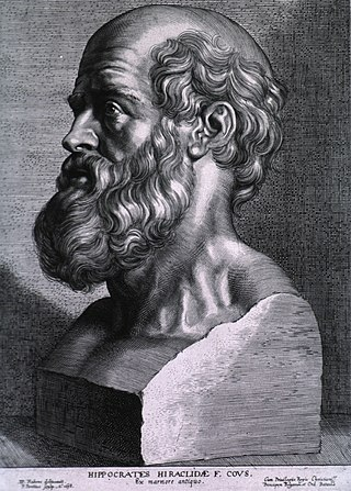 Hippocrates stated in the oath (c. 400 BC) that general physicians must never practice surgery and that surgical procedures are to be conducted by specialists Hippocrates rubens.jpg