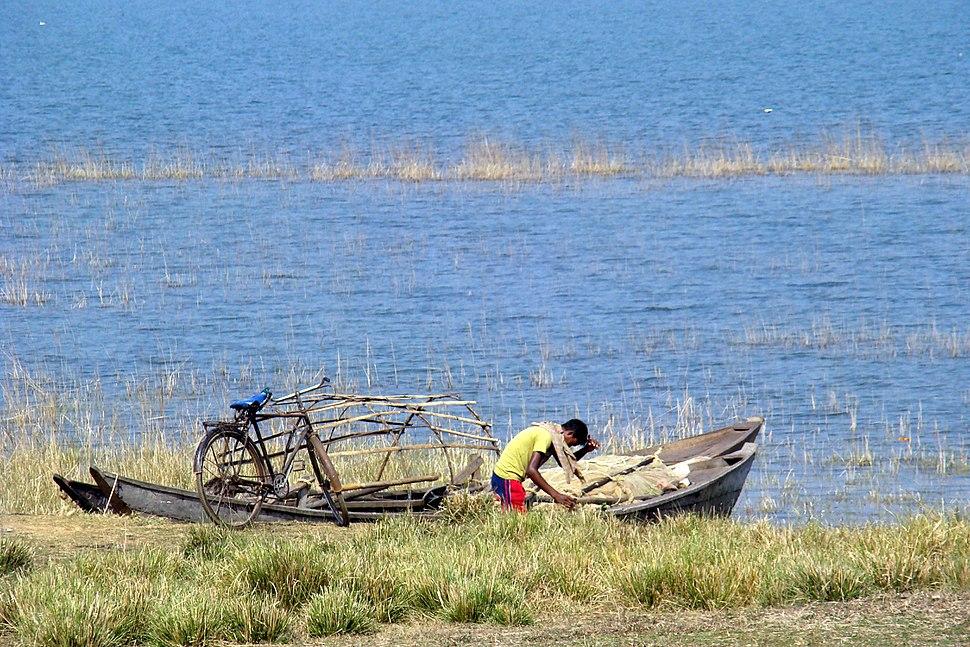 Hirakud fisherman2