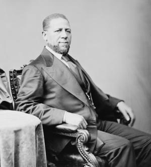U.S. Senator Hiram Rhodes Revels, the first Af...