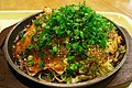 Hiroshima yaki by woinary at the food court in Hiroshima Airport.jpg