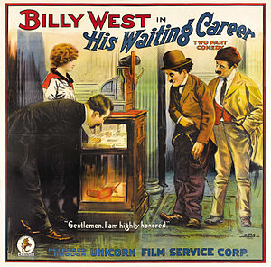 Billy West (silent film actor) - His Waiting Career (1920)