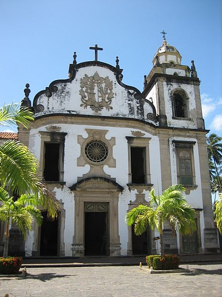 Basilica Abacial do Mosteiro de Sao Bento de Olinda Historic Centre of the Town of Olinda-109016.jpg