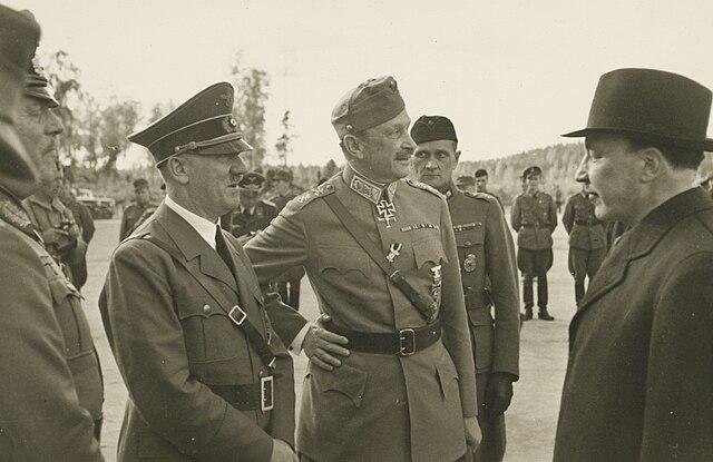 Hitler Mannerheim Ryti