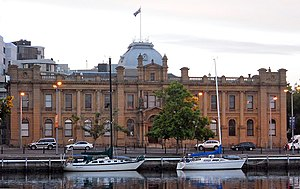 Hobart waterfront architecture