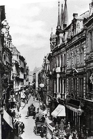 Hohe Straße - Hohe Straße in 1895